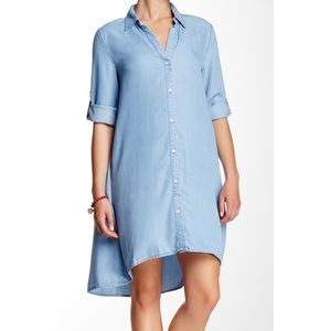 Nine West Jeans,  Denver Shirt Dress Fiji wash Lg